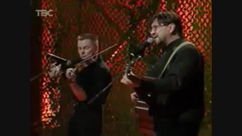 Юрий Шевчук🎸и🎻Сергей Рыженко, ЗАБЫТЫЙ ПОЛК с Евгением Кириченко на ТВС, 2002