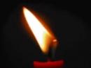 Горит свеча стекает воск