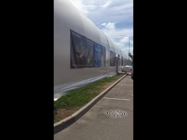 Освещение, КТК: Обзор спортивного комплекса Разлив