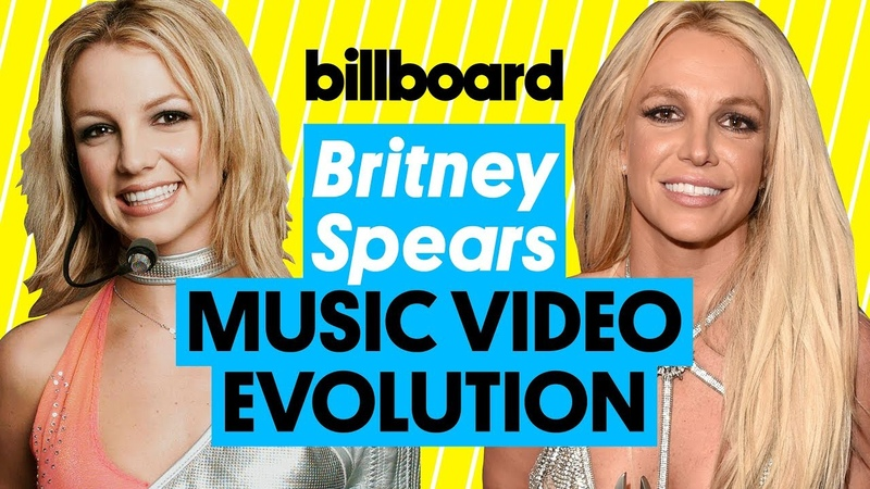 Britney Spears Music Video Evolution ...Baby One More Time to Slumber Party | Billboard
