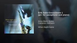 Erik Satie-Gnossienne 1 (arr. for saxophone and piano)