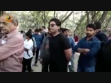 AlluArjun casts his vote. - Are you making your vote count Do it right away - TelanganaElections Telugufilmnagar