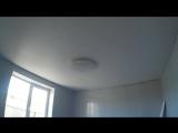 Белый матовый натяжной потолок г.Карталы ул.Заводская