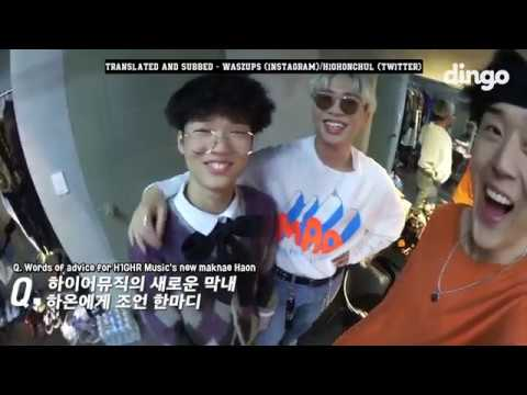 ENGSUB H1GHR Music Kitkat Dingo Interview