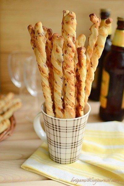 Хлебные палочки к пиву. Чудо, что за палочки!