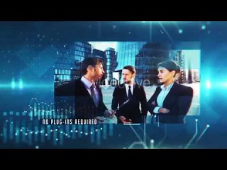 Technology Presentation After Effects Template