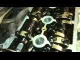 Забитый коксом двигатель 2NZ FE. Toyota Yaris
