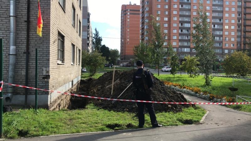 Эвакуация дома Полевая 18, при земельных работах найдена авиационная бомба