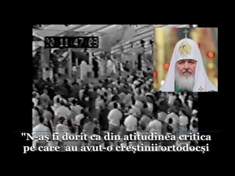 Declaratia Mitropolitului Kiril actualului patriarh al BORu la summitul CMB de la Canberra 1991