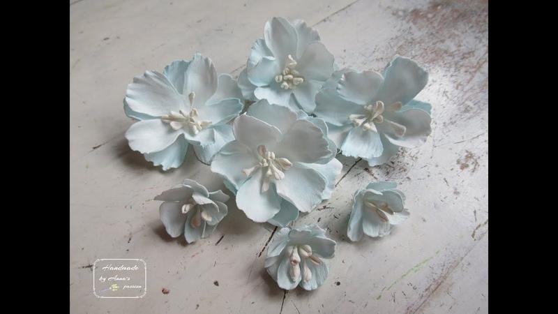 ♡ Easy Foamiran flowers tutorial using Lady E dies ♡ foamiran foamiranflowers ladye