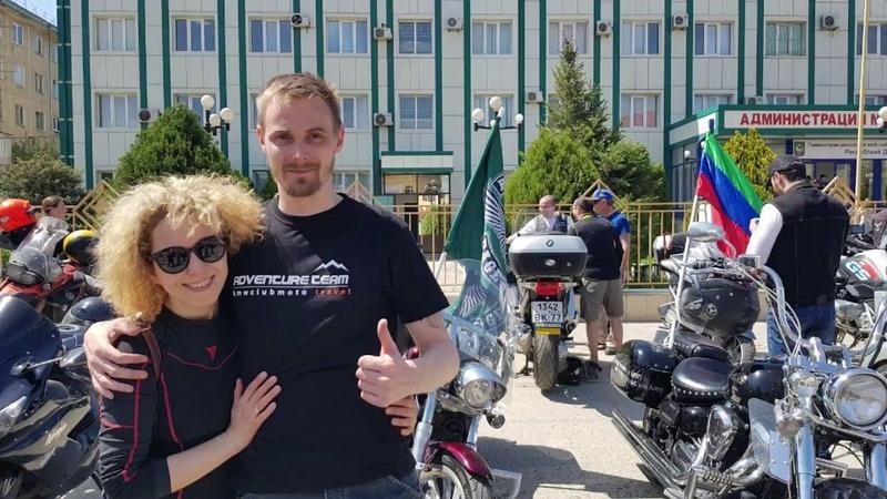 Дагестан 2018 с BMW Motorrad