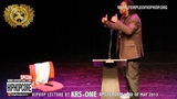 1 Hiphopcore Special Hiphop lecture by KRS-ONE in Amsterdam part one