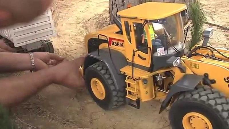 RC Trucks RC Camiones RC Fahrzeuge rc excavator maquinas rc