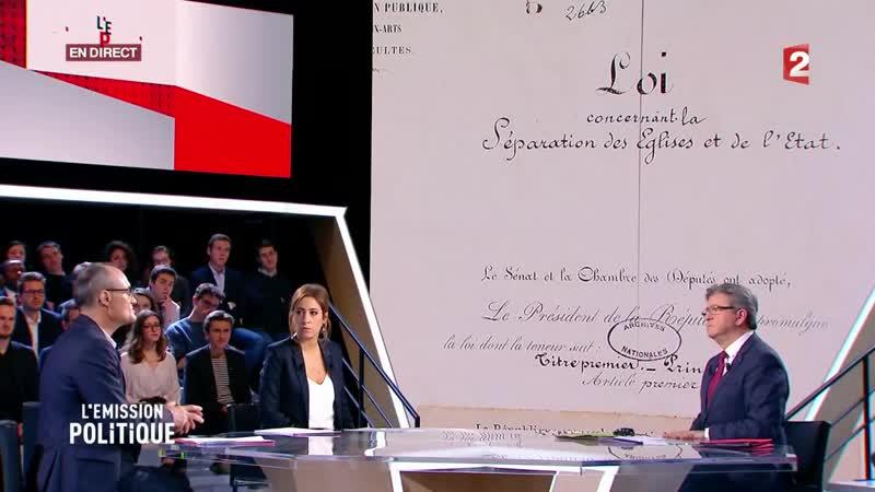 8 Philippe Val est l'invité inattendu de l'Emission politique - 30 novembre 2017 (France 2)