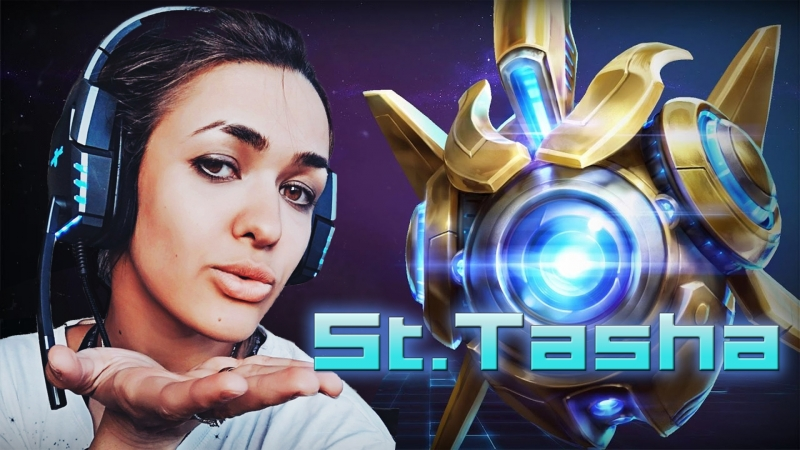 Girl in StarCraft 2, девушка стримит ламповый накал!