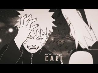 NARUTO〤 SAKURA 〤 SASUKE _ I DONT FUCKING CARE. _ MMV _ {xKamiKaze}