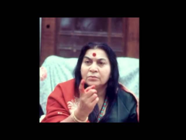 Лекция Шри Матаджи пуджа шри Гуру Англия 02 12 1979
