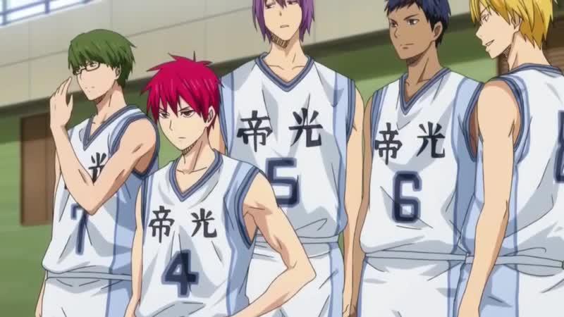 【MAD】Kuroko no Basket −帝光編− Япония japan AnimeMAD