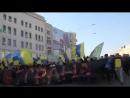 ЦейДень 30.3.2014 - в Харкові вболівальники Металіста і Шахтаря вперше заспівали пісню про Путіна