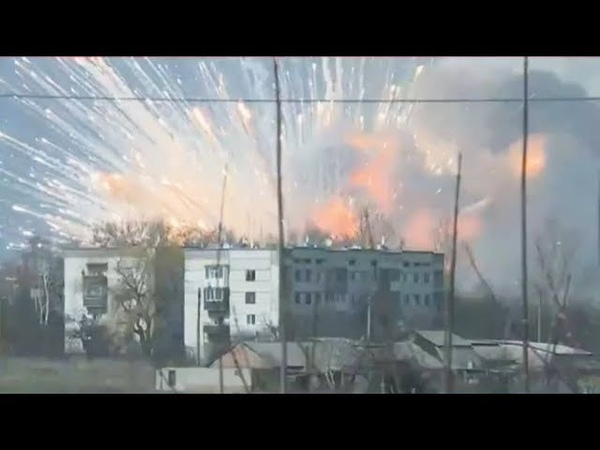 Пожар на военных складах в Черниговской области прокомментировала Нацполиция
