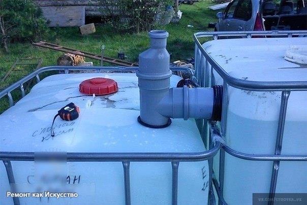 Как сделать ёмкость для воды 499