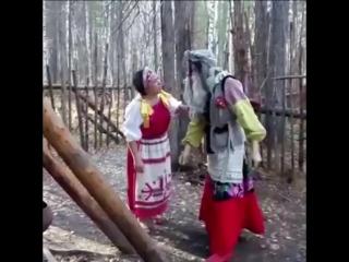 Баба Яга и новый год (1 серия)