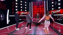 Агнесса Королева - Голос 7 - Танцуют все - Шнур, Баста, Лорак, Меладзе