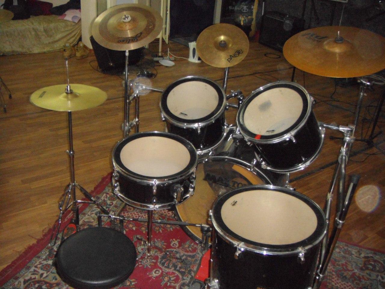 Как сделать свою барабанную установку 542