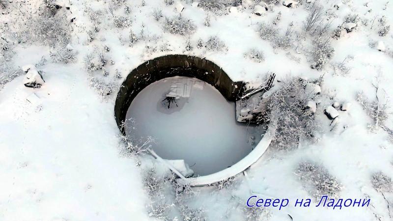 Былая мощь СССР. Недостроенные шахты баллистических ракет в Мурманской области