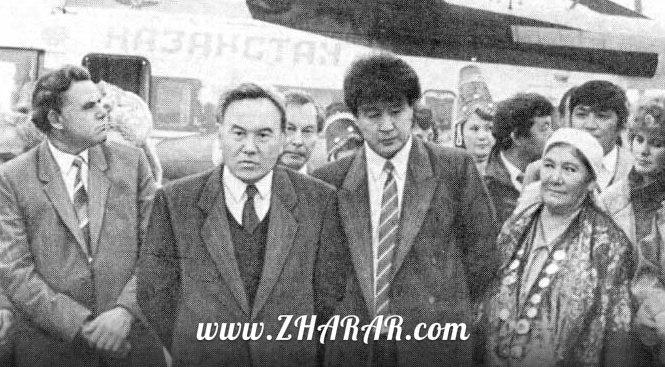 Қазақстан өңірлері Назарбаевты 92-жылы қалай қарсы алды? (видео)