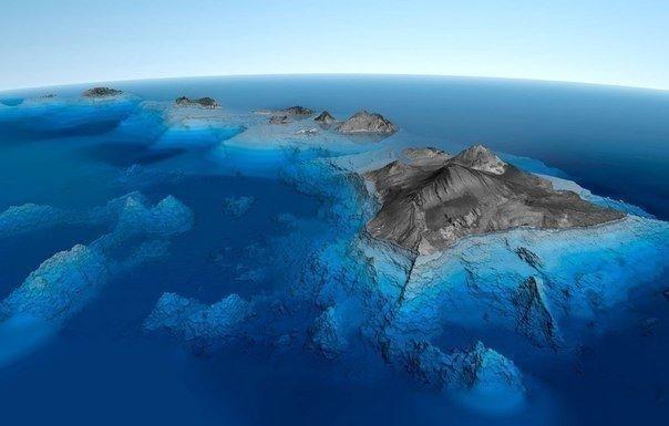 Самая высокая гора в мире с подножьем на дне океана является Мауна-Кеа