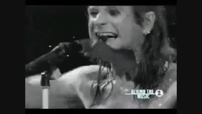 Ozzy Osbourne bit off the bat's head