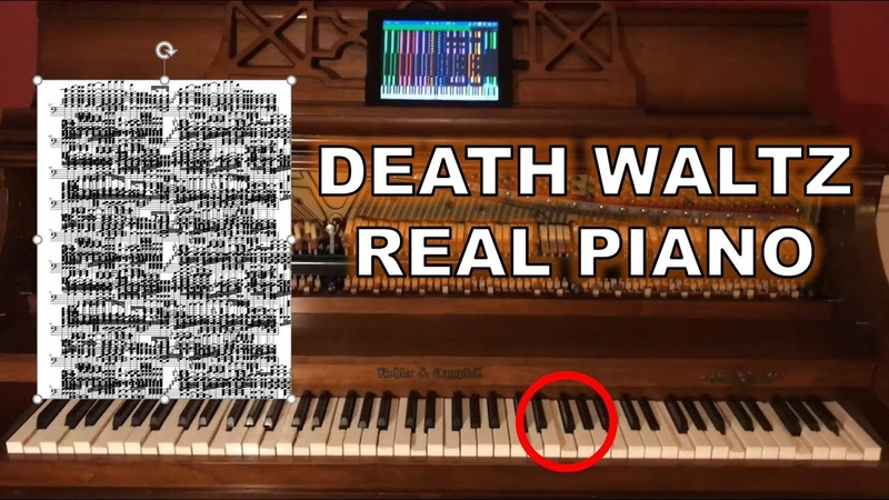 Death Waltz BLACK MIDI but it's played on a REAL PIANO (U.N. Owen Was Her?)