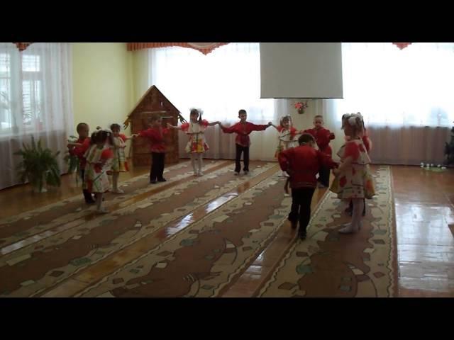 Веселый русский танец Топотушки