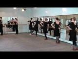 Урок народно-характерного танца. Автор - Исакова А.