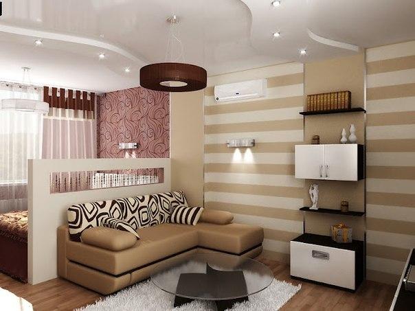 Идеи по зонированию комнат #DIY_Идеи