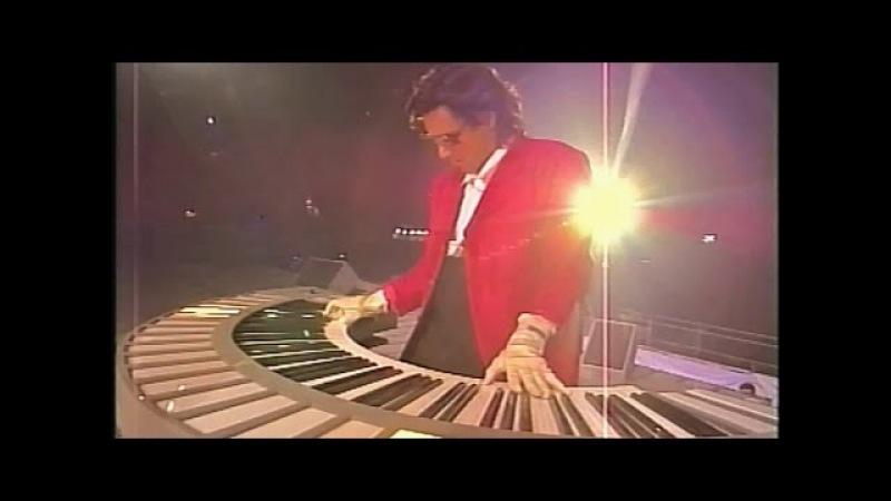 Jean Michel Jarre Live 1990 PARIS LA DEFENSE The Biggest Free Rock Concert Ever VHS Remaster 2016