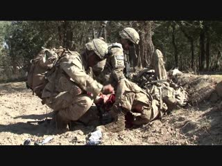 Saving private ryan thomas after afghan ied strike
