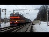 Электровоз ЧС2Т-959 с поездом №212 (Москва → Мурманск)