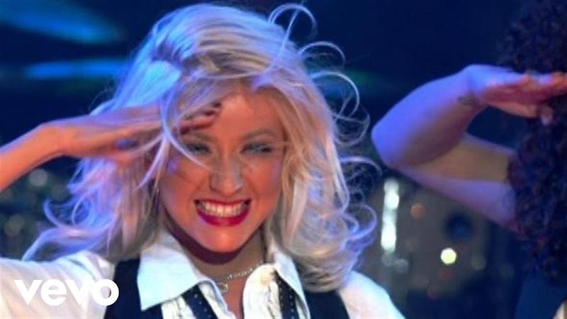 Christina Aguilera Candyman Live Sets on Yahoo Music
