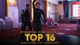 Danzel vs Wendy Waacking 1v1 Top16 Revelation Show Yourself 2018 Klang, Malaysia