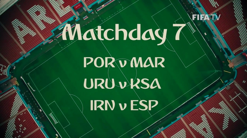 Whos ready for Matchday 7 at the FIFA World Cup