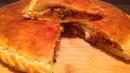 Пресный пирог с мясом и сыром Rooti casho ahaan ad ucuni karto