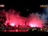 Delije - Bakljada i leteći lampioni / Crvena zvezda - Rad 2:0