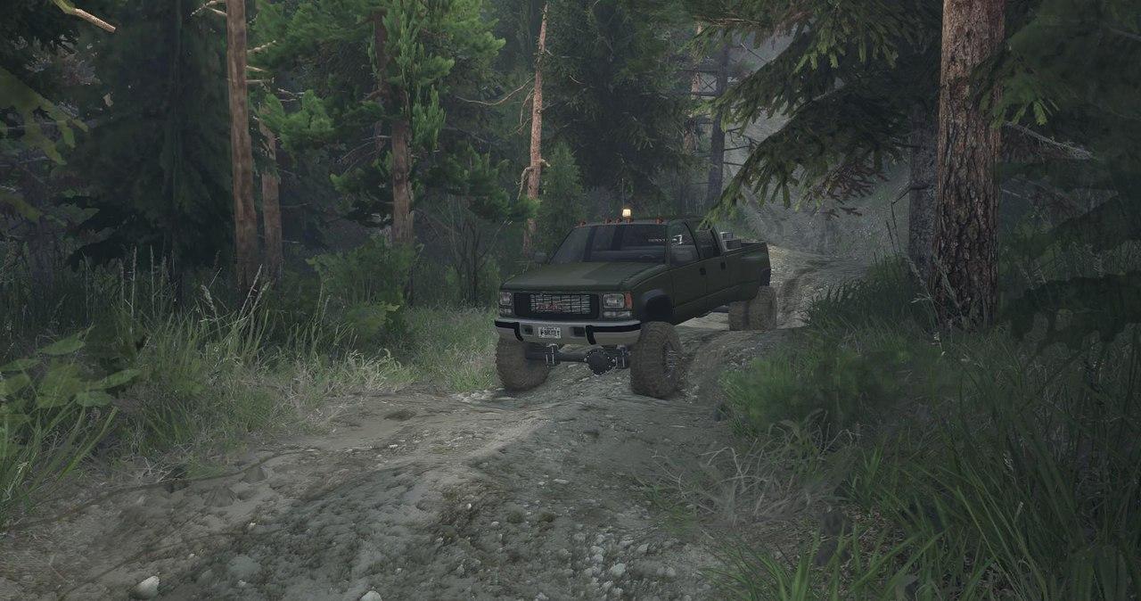 95 GMC Crew Cab Dually v1.0 для Spintires - Скриншот 2