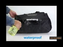 Waterproof nylon sport bag with Independent shoe storage