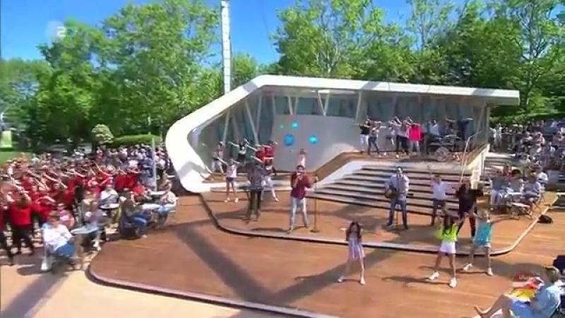 Álvaro Soler Dance4Fans «La Cintura» ZDF-Fernsehgarten