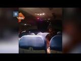 В Сети обсуждают видео с вечеринкой на борту самолета из за поломки электроники