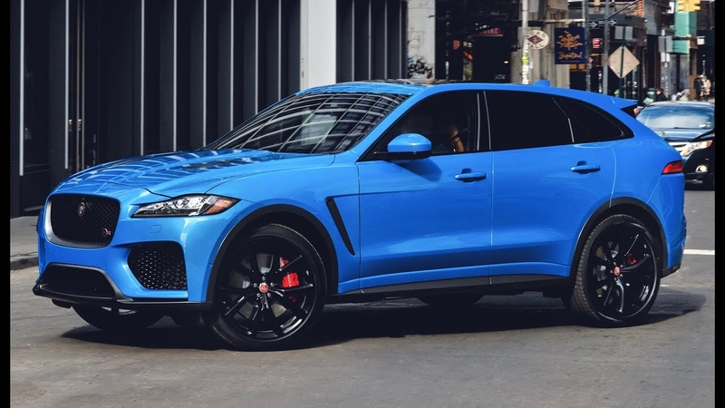 2019 Jaguar F-Pace SVR - Features, Design, Interior and Drive