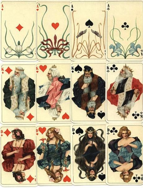 Игральные карты эпохи модерн